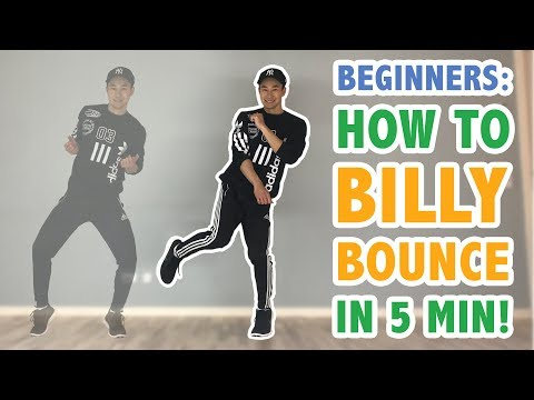 How To Do The Billy Bounce EASY (Step By Step For Beginners) | Basic Moves Dance Tutorial #37