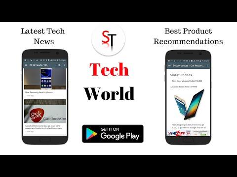 Tech World App -  Tech News & More by Sid Tech