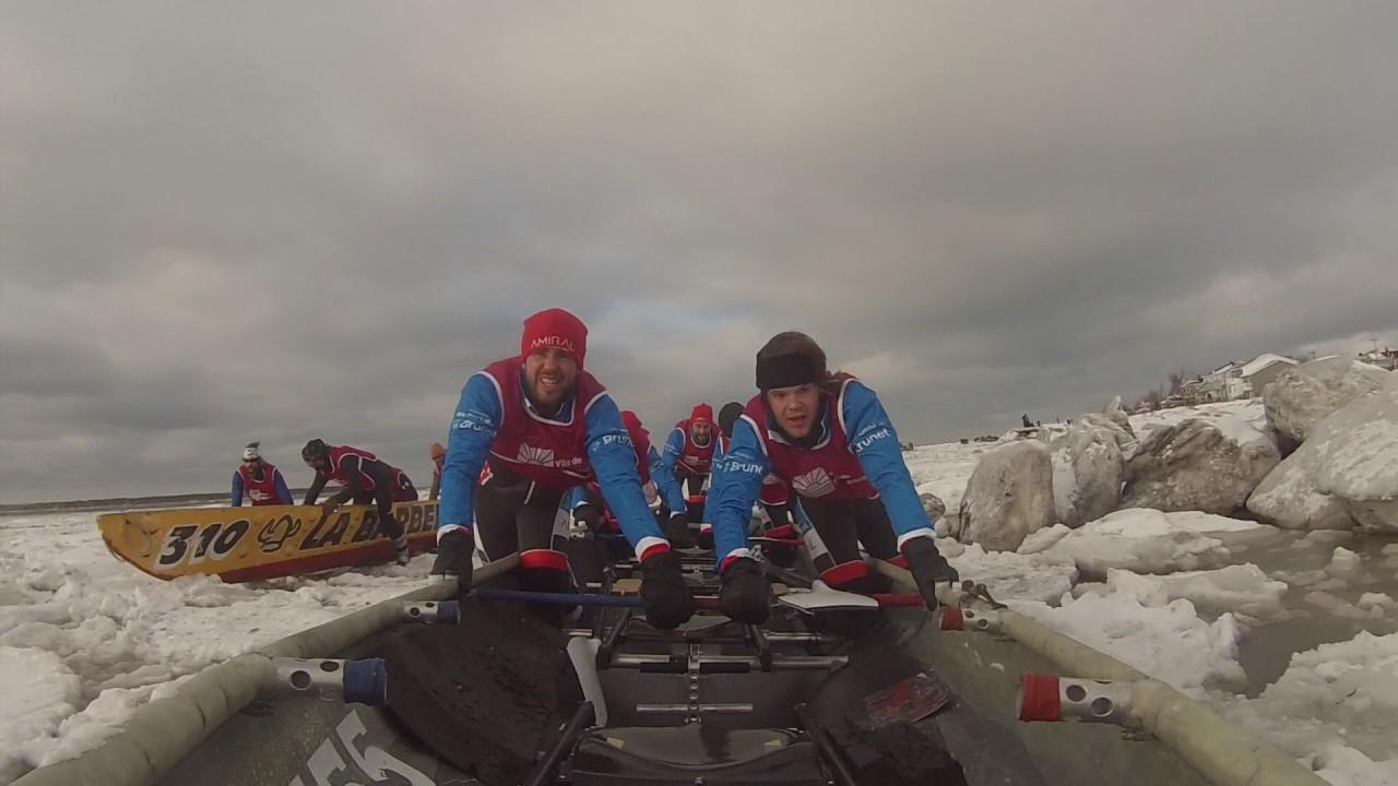 Canot à glace 2017 – Rimouski – Équipe Amiral / Pharmacie Marie-Pier Labbé inc.
