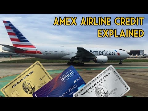 Amex Airline Fee Credit: Everything You Need To Know