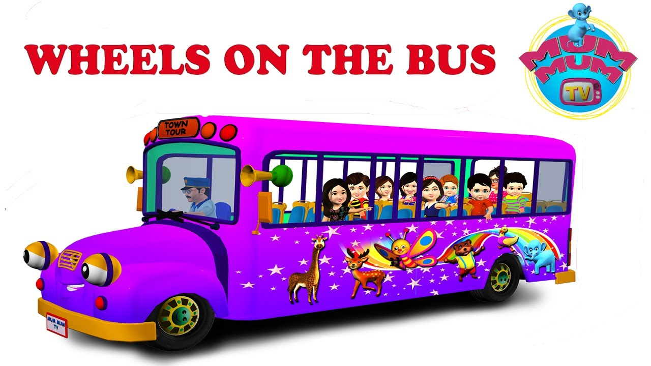 The Wheels On The Bus Nursery Rhymes For Children Video