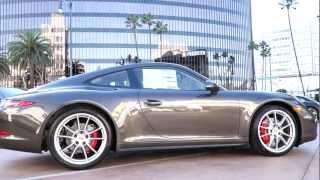 Porsche 911 Carrera 4S Coupe 2013 Videos