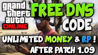 "GTA 5 ONLINE - Free Dns Code / Unlimited RP / Money ( ""GTA DNS CODE"" )"