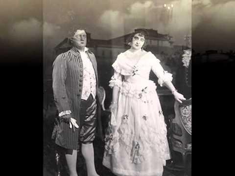 Great Polish tenor: Stanisław Gruszczyński - Andrea Chénier, 4 act, 1926