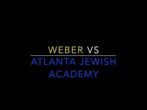 Weber Rams Take on Atlanta Jewish Academy Jaguars infront of packed crowd !