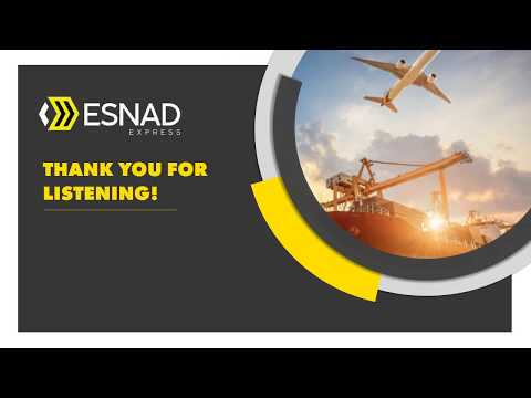 Esnad Express - Your Shipment Is Our Commitment - YouTube