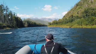 Рыбалка на реке Анюй в Хабаровском крае Красоты Аркаима река Яка