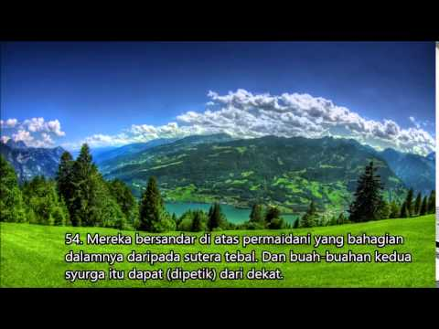 Download Lagu Surah Ar Rahman by Sheikh Mishari Rashid Al Afasy malay translation terjemahan bahasa melayu