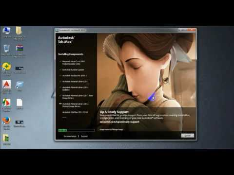 How to install 3ds max-2011
