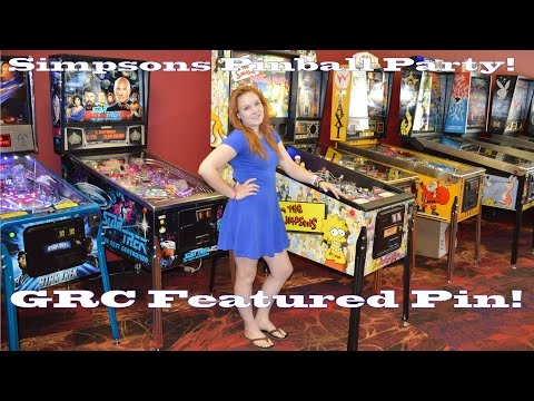 The SIMPSONS PINBALL PARTY Pinball Machine ~ GRC Feature Review! Gameplay Battle!
