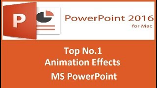 Best Top No.1 Animations Trick In PowerPoint (In Hindi).