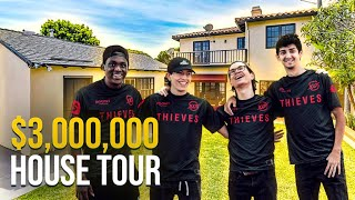 Touring the New (UPGRADED!) 100 Thieves House