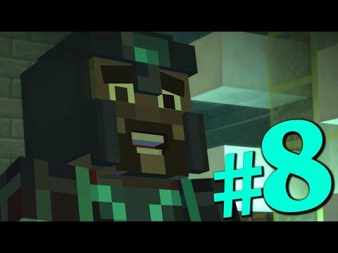 Прохождение Minecraft Story Mode #8 (#1 Ep. 3) ГАБРИЭЛЬ, НЕ УМИРАЙ!
