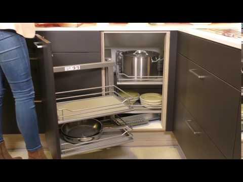 Häcker Küchen Produktvideo - Eckunterschrank mit Schwenkauszug