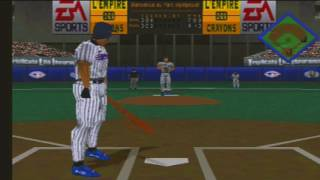 1998 Toronto Blue Jays 1998 Montreal Expos Triple Play 98 retro game play