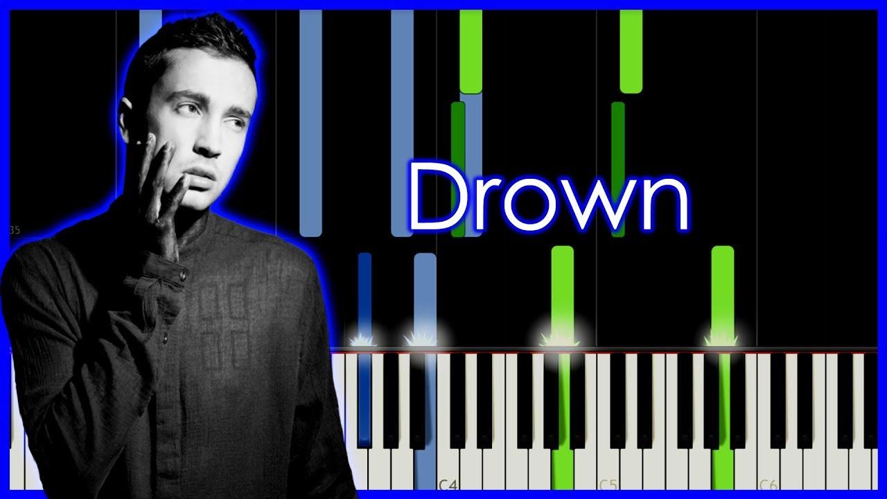 Tyler Joseph Drown Piano Tutorial By Elcyberguy Youtube