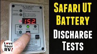 Lion Energy Safari UT Battery Tests (Part 1) - Amp Hour Capacity