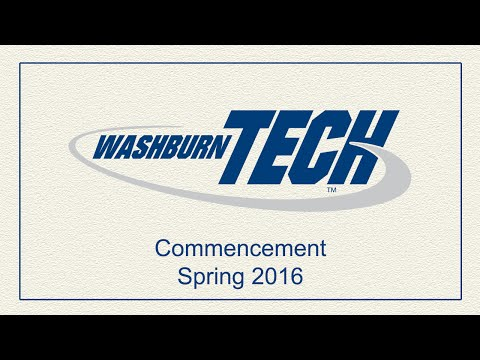Washburn Institute of Technology | 2016 Spring Commencement