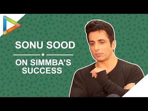 Sonu Sood: 鈥淩esponse to SIMMBA was PHENOMENAL, I was OVERWHELMED鈥�