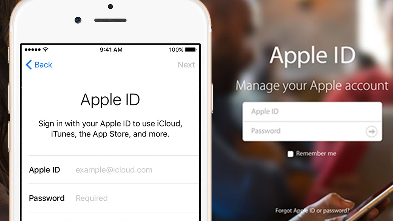 How to create apple id account on iphone
