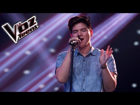 Kevin canta 'Que lloro'   Audiciones a ciegas   La Voz Teens Colombia 2016