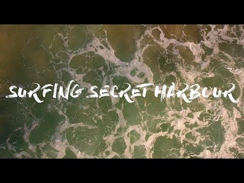 Surfing Secret Harbour - Phantom 4 Aerial Footage