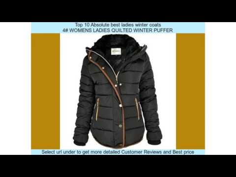 Top 10 Absolute best ladies winter coats