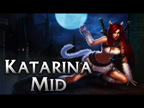 Kitty Cat Katarina Mid - League of Legends Commentary