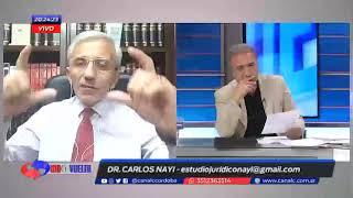 """Nayi: """"El Pato Cabrera esta prófugo de la justicia"""""""