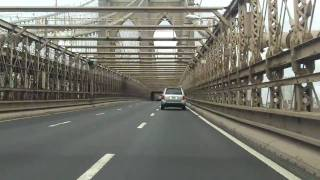 Brooklyn Bridge westbound
