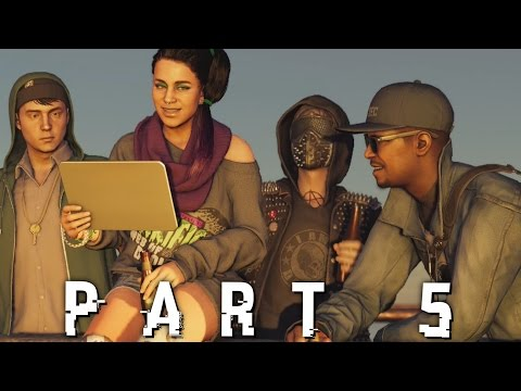 Watch Dogs 2 Walkthrough Gameplay Part 5 - SURPRISE (PS4 PRO)
