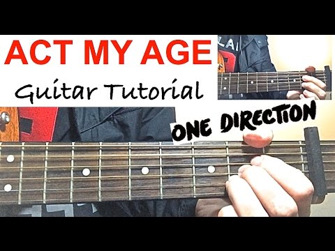 Act My Age Piano Chords One Direction Khmer Chords