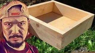 простая деревянная коробочка своими руками