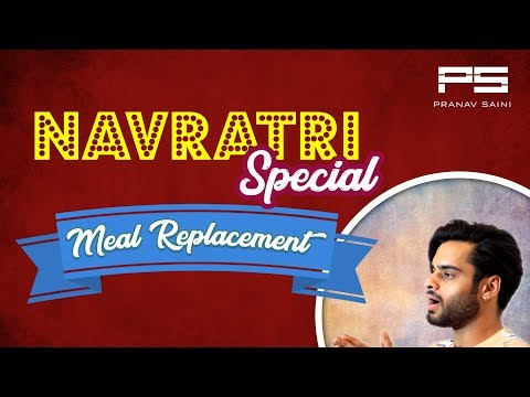 Do not lose muscle this NAVRATRI(Navratri Special food replacement Options) by Pranav Saini