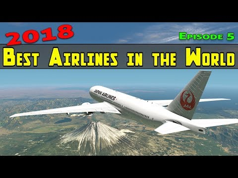 2018 Best Airlines in the World | Episode 5 | Japan Airlines | X Plane 11 and Ortho4XP