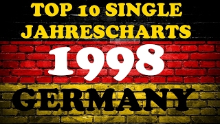 TOP 10 Single Jahrescharts Deutschland 1998 | Year-End Single Charts Germany | ChartExpress