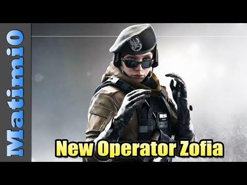 New Operator Zofia - Rainbow Six Siege