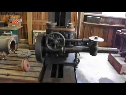Denton Farm Park antique Machinery in Machine Shop
