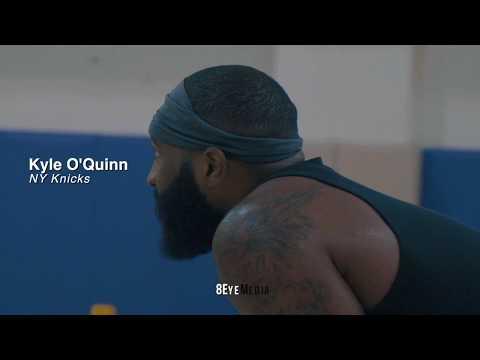 Kyle O'Quinn (Knicks) - NEXT LEVEL Training w/ Kyle Sample