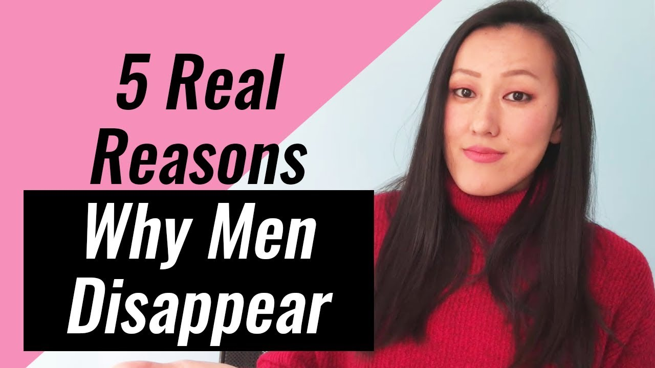 5 Real Reasons Why Men Disappear (Do this to get his attention back)
