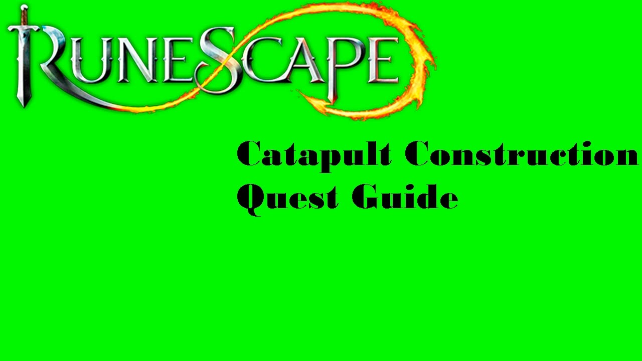 Rsquest: catapult construction quest guide youtube.