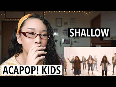 Acapop! KIDS - Shallow (REACTION)