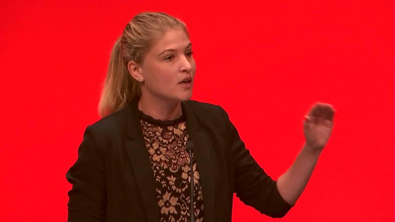 Christina Krzyrosiak Hansens tale til Socialdemokratiets kongres 2016