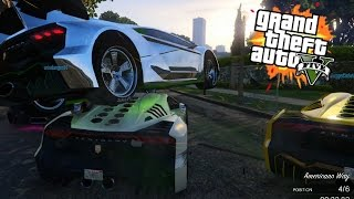 CRAZY FLYING CARS | GTA 5 ONLINE