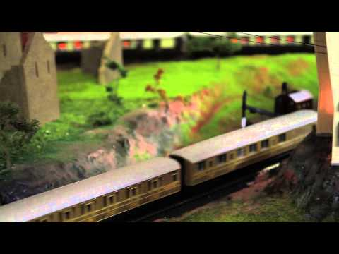 Great western railway GWR Hornby layout update 25/4/13