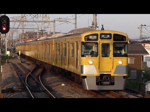 【FHD】西武拝島線 武蔵砂川駅にて(At Musashi-Sunagawa Station on the Seibu Haijima Line)