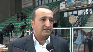09-11-2014: A2M - Vincenzo Fanizza dopo la sconfitta interna della Materdomini con Vibo