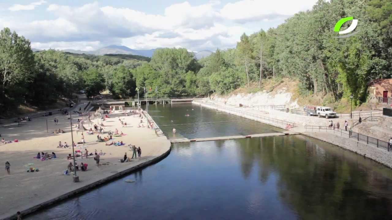 Lago de jara z youtube for Piscina natural jaraiz de la vera