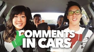 "COMMENTS IN CARS! - ""From Here On Out"" Ft. Julie Zhan & Lawrence Kao"
