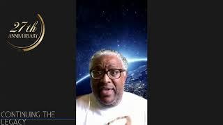 Joseph Robinson and The Chosen Aggregation 27th Anniversary Virtual Celebration
